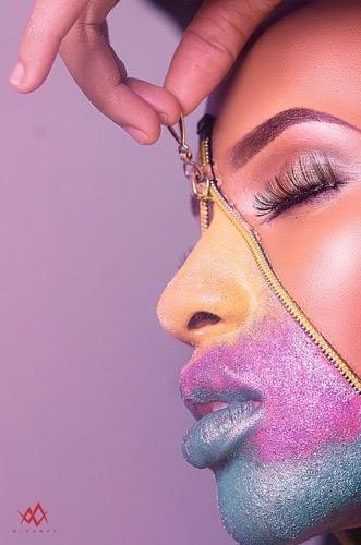 UgoTalks To Aina Davies About Makeup