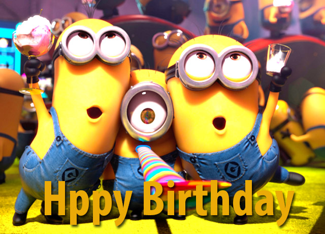 Happy Birthday Song Minions