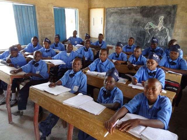pupils-in-a-nigerian-post-primary-school